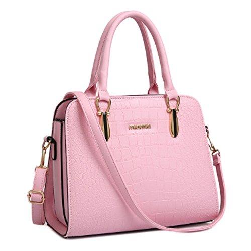 unica taglia rosa donna L W per Collection® Borsa mano blu a H7716Sx