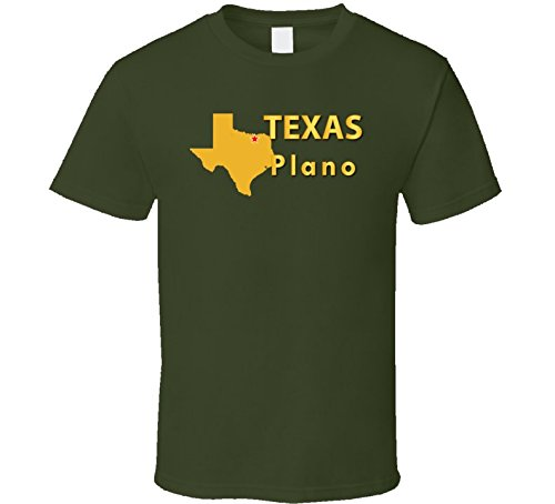 XLARGE - State Emblem - Texas - Plano with out text - Military - Plano Texas Stores In