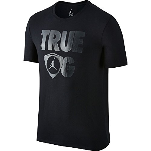 Air-Jordan-Retro-14-True-OG-Mens-T-Shirt-Black-801120-011