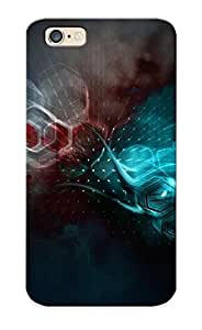 Design High Impact Dirt/shock Proof Case Cover For Iphone 6 (degraded Molecules )