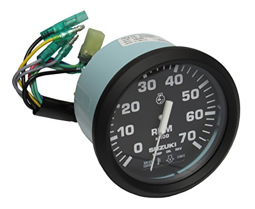 chometer with 4-Stroke Monitor Functions, Black 99105-80001 (Stroke Tachometer)