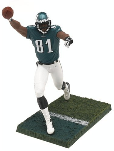 McFarlane Toys NFL Sports Picks Series 10 Action Figure Terrell Owens (Philadelphia Eagles) Green Jersey Mcfarlane Nfl Picks