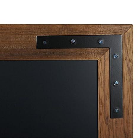 Lavagna in legno nera DISPLAY SALES lavagna magnetica da parete con cornice in legno 40x50 cm