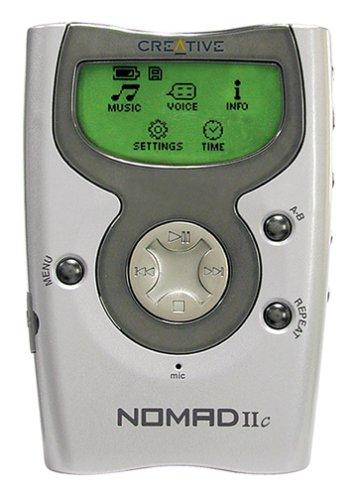 Creative Labs NOMAD IIc 128 MB MP3