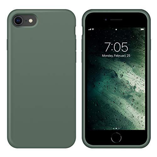 OUXUL iPhone SE 2020 Case,iPhone 7/8 Phone case,iPhone 7 case Liquid Silicone Gel Rubber Phone Case,iPhone SE 2020/8/7 4…
