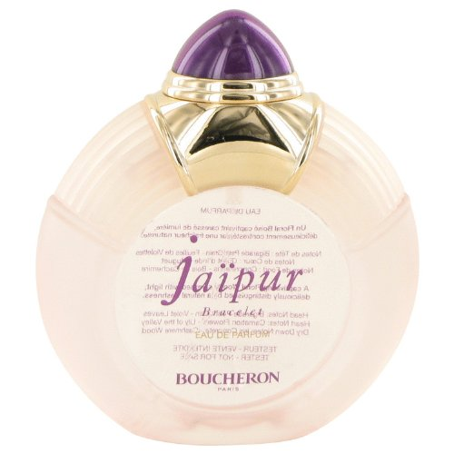 Free Perfume Testers (Boucheron Jaipur Bracelet Perfume For Women 3.3 oz Eau De Parfum Spray (Tester) Free Express Shipping)