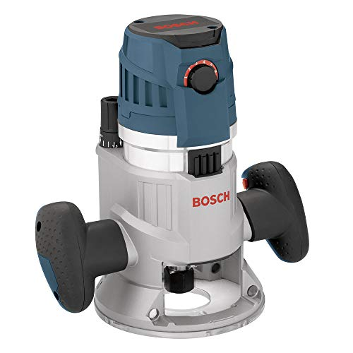 Plunge Router Vs Router - Bosch MRF23EVS-RT 2.3 hp Fixed-Base Router (Certified Refurbished)
