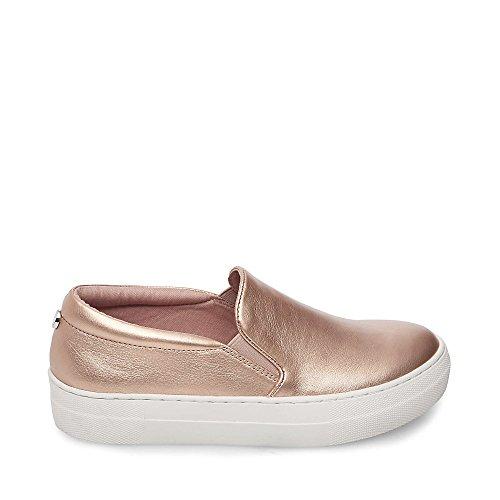Steve Madden Vrouwen Kieuwen Mode Sneaker Rose Goud