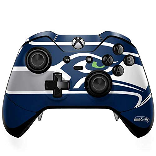 - Skinit Seattle Seahawks Large Logo Xbox One Elite Controller Skin - Officially Licensed NFL Gaming Decal - Ultra Thin, Lightweight Vinyl Decal Protection