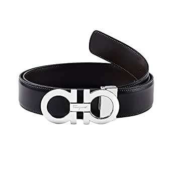 Amazon.com: Salvatore Ferragamo Men's Adjustable Belt ...