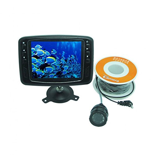 Fish Finder Underwater Video Camera 600 TV Line 3.5 Inch LCD Monitor 15M Cable 150¡ã Wide Angle Fishing (600 Tv Lines)
