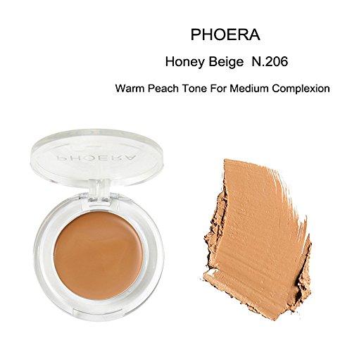 PHOERA Face Makeup Concealer Foundation Palette Creamy Moisturizing ConcealerColors Face Mineral Pigment Makeup Premium Synthetic Foundation Powder Professional Palette Blush Contour Shadow -  Chinahope, Chinahope142