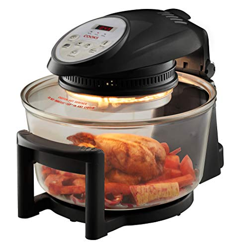 Cooks Professional Electric Halogen Oven with Hinged Lid, 17L Capacity,...