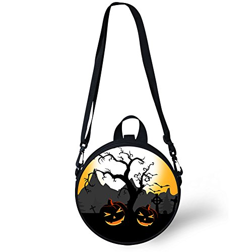 Round Women V6lcc4022i and Backpack Fashion Bag Round for Girls Women FancyPrint Crossbody UZqgq