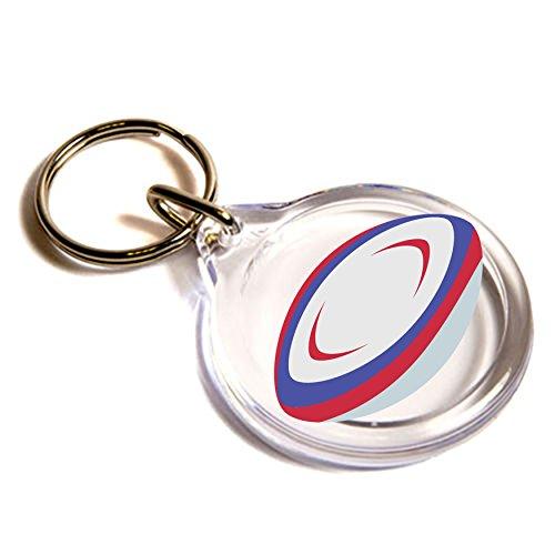 Rugby Football Emoji Key Ring (Town Rugby)