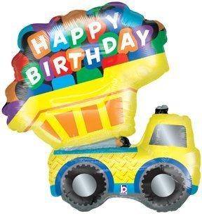Amazon TONKA Yellow DUMP TRUCK Construction HAPPY Birthday