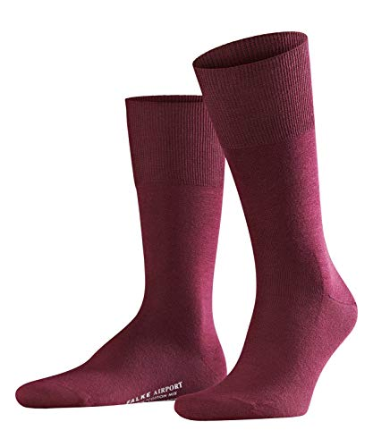 Falke Men's Socks 1 pair Airportcity short stocking sizes 41-48 - color selection: Colour: Barolo | Size: 8.5-9.5 UK
