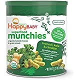 Happy Baby Organic Superfood Munchies Baked Cheese &...