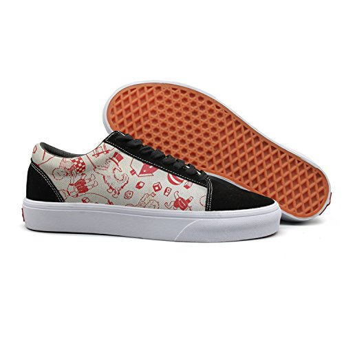 Hoyles Graphic Celebrate Halloween Man Durable Boat Shoes Classic Fashion-sneakers]()