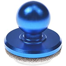 Mini Mobile Game Joystick Suction Cup Touch Screen Joypad Tablet Game Controller (PackX2) (Blue)
