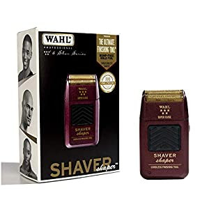Wahl Professional 5-Star Series Rechargeable Shaver/Shaper #8061-100 – Up to 60 Minutes of Run Time – Bump-Free, Ultra-Close Shave