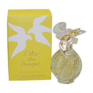 L'air Du Temps By Nina Ricci For Women. Eau De Toilette Spray 1.7 Oz