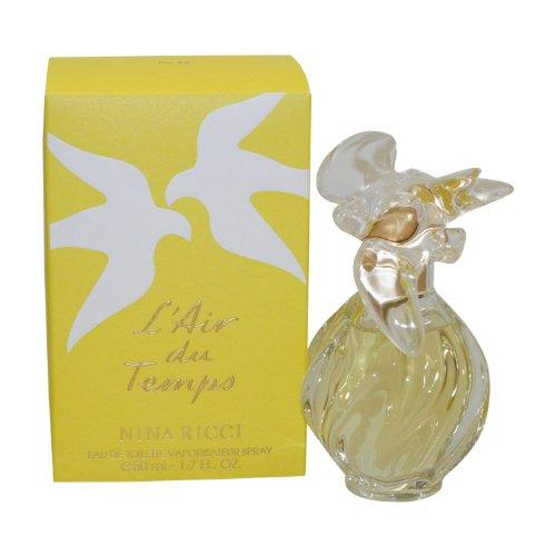 Nina Ricci Nina Eau De Toilette Spray (L'air Du Temps By Nina Ricci For Women. Eau De Toilette Spray 1.7 Oz)