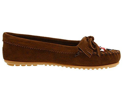 Women's Thunderbird Dusty Brown Bird II Minnetonka Mocassin dqaOw6q5