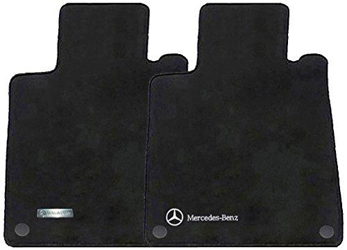 Mercedes benz genuine oem carpeted floor mats clk class for Floor mats for mercedes benz