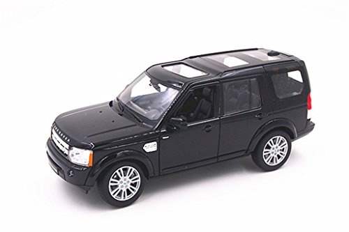 covery 4 with Sunroof 1/24 Scale Diecast Model Car Black (Discovery 1 Models)