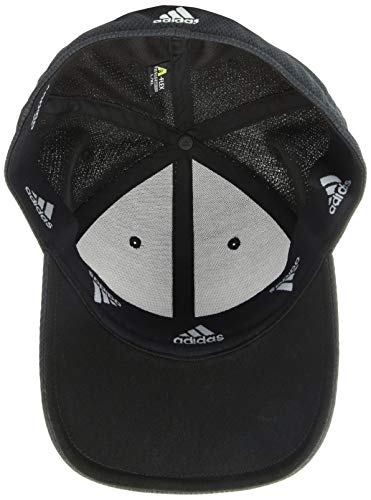 55bb16ca5 adidas Men's Release Stretch Fit Structured Cap, Black/Onix, - Import ...