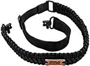TLO Outdoors Paracord Gun Sling - Adjustable 2-Point Paracord Sling for Rifle, Shotgun, and Crossbows (550 Rat