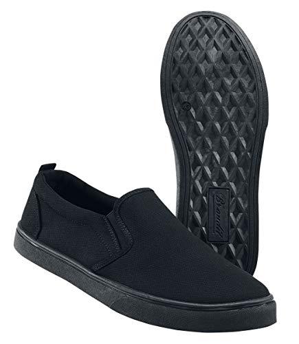 Scarpe on nero Brandit Sneaker Slip Nero Southampton Sportive 6nSaz