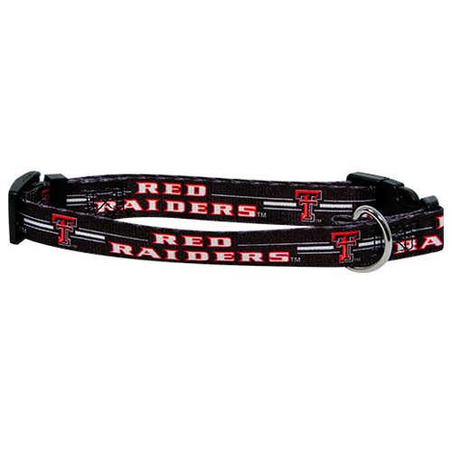 Hunter MFG Texas Tech Dog Collar, Extra Large