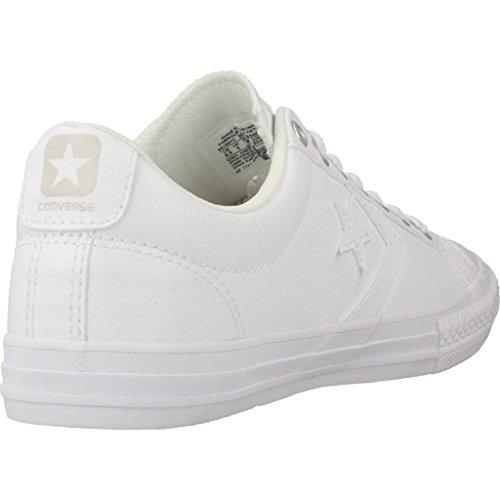 Ox Star Blanc Chaussures white 100 Synthetic Lifestyle white white Fitness Player Ev Converse Garçon De IB51wqx