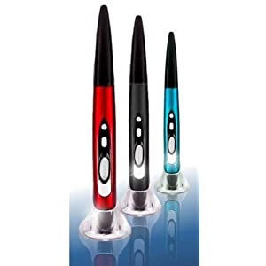 ペンのように使える!!! 無線内蔵ペン型マウス 持ち歩き楽々