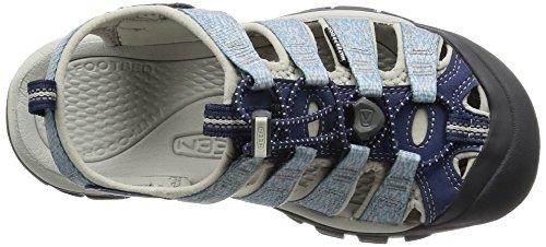 KEEN Womens Newport H2 - Sandalias azul (Crown Blue/Vapor)