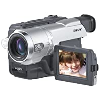 """Sony CCDTRV608 Hi8 Camcorder with 3.0"""" LCD, Video Light & USB Streaming (Discontinued by Manufacturer)"""
