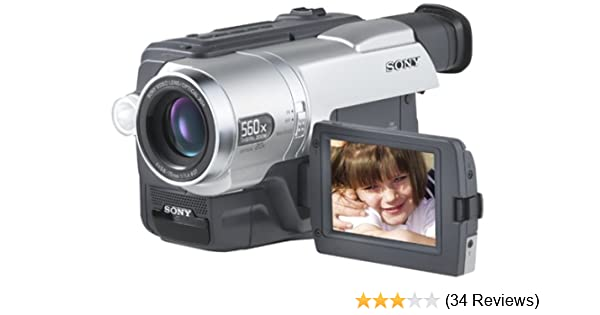 Sony CCDTRV608 Hi8 Camcorder with 3 0