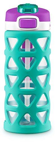 Ello Luna Tritan Kids Water Bottle, Mint, 16 oz.]()
