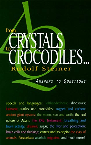 From Crystals to Crocodiles: Answers to Questions