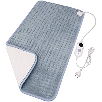 Diwenhouse Heating Pad for Fast Pain Relief - Electric Heating Pads Back Pain with 4 Auto Shut Off for Neck/Shoulders/Knee/Feet, 3 Heat Options - Hot Heated Pad(12