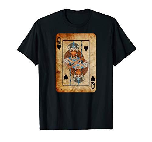 Black Queen Spade Playing Card - T-Shirt - Men Women Youth