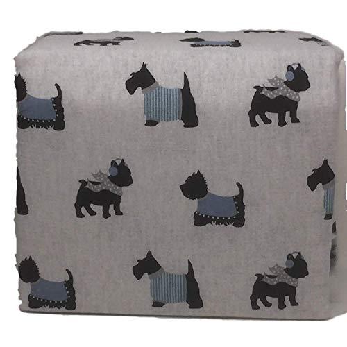 - Ashley Cooper Twin Flannel Sheet Set Dogs in Sweaters