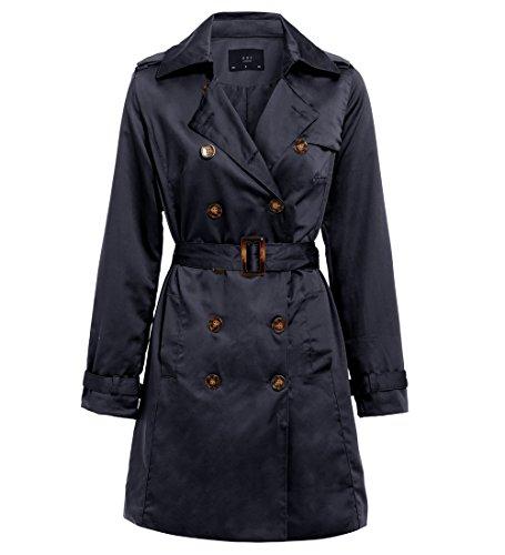 Marine Navy Beige Mac Coat Femmes 36 Ladies Jacket Taille Camel 44 Trench Ss7 O1wSq7xZS
