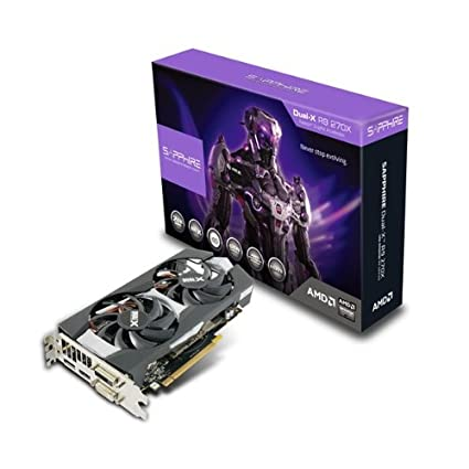 Amazon in: Buy Sapphire Radeon R9 270X 2GB GDDR5 DVI-I/DVI-D/HDMI/DP