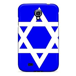 First-class Case Cover For Galaxy S4 Dual Protection Cover Bluewhite Sod