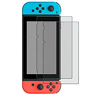 Protective Screen Protector Compatible with Nintendo Switch, Timorn HD Clear Replacement Screen Protector Tempered Glass Anti-Scratch Switch Protective Screens Film, 2 Pack