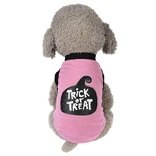 XoiuSyi Puppy Cool Halloween Cute Pet Vest Clothing Comfy Costume for Small Dog