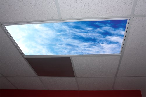 Cirrus Clouds Skypanels - Replacement Fluorescent Light Diffuser - Sky Panel